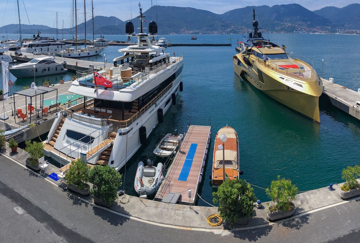 In La Spezia, Porto Lotti is superyachts heaven haven