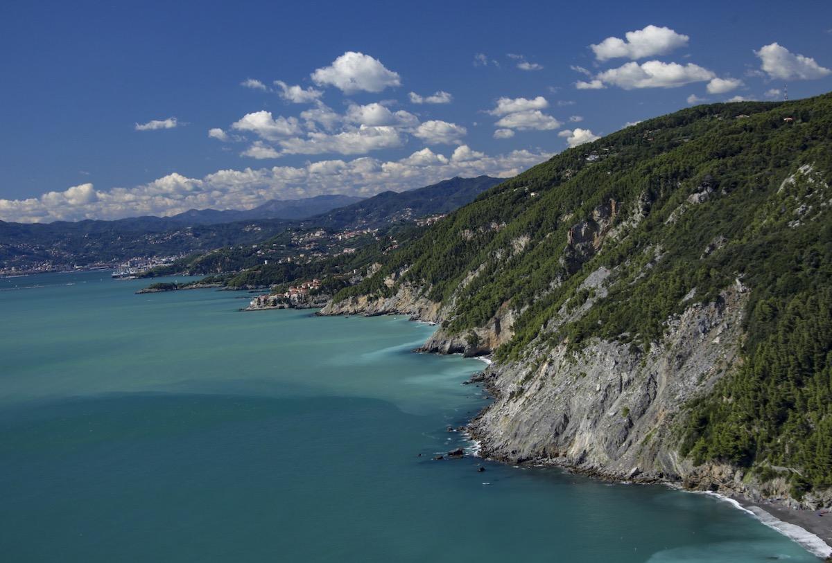 mare costa Cinque Terre la Spezia Liguria