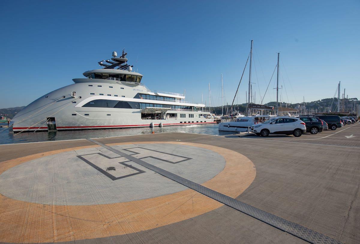 Heliport Eliporto Porto Lotti La Spezia Italia Italy Golfo Liguria Tigullio Superyachts Yachts Super