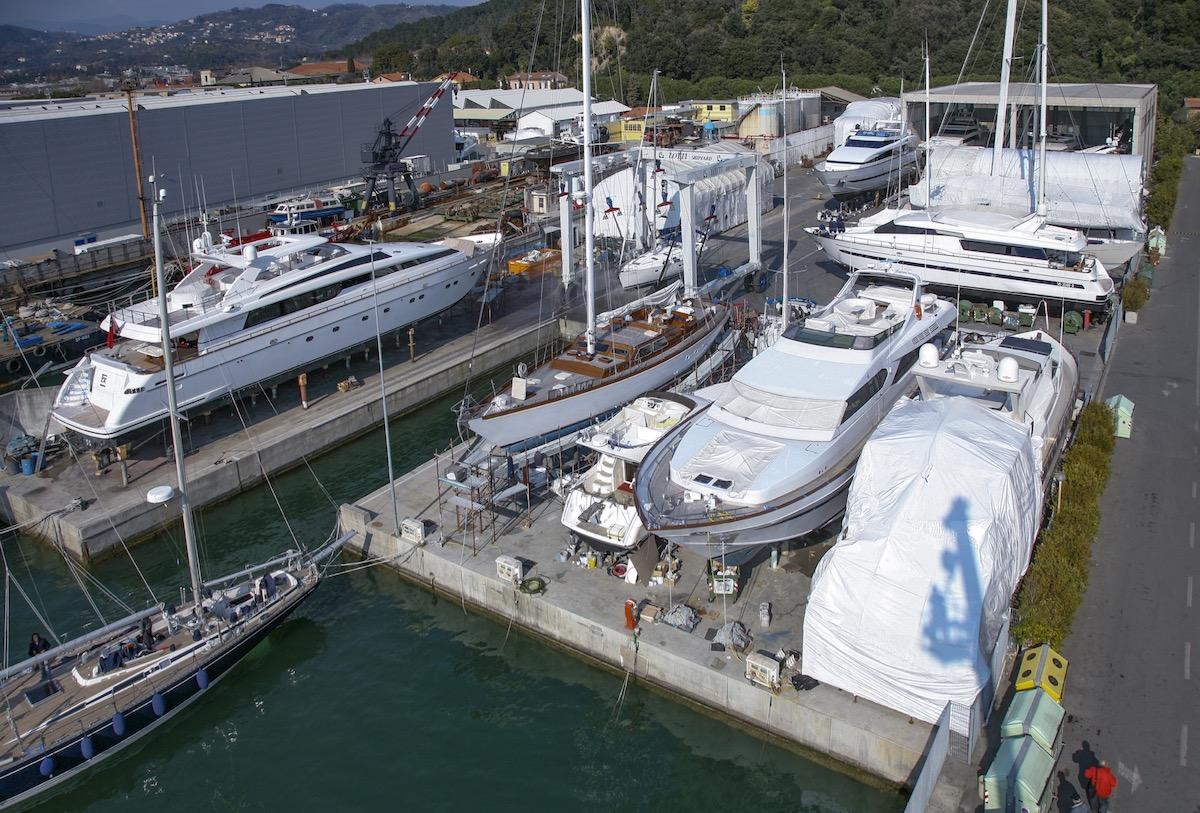 LOTTI SHIPYARD a la Spezia