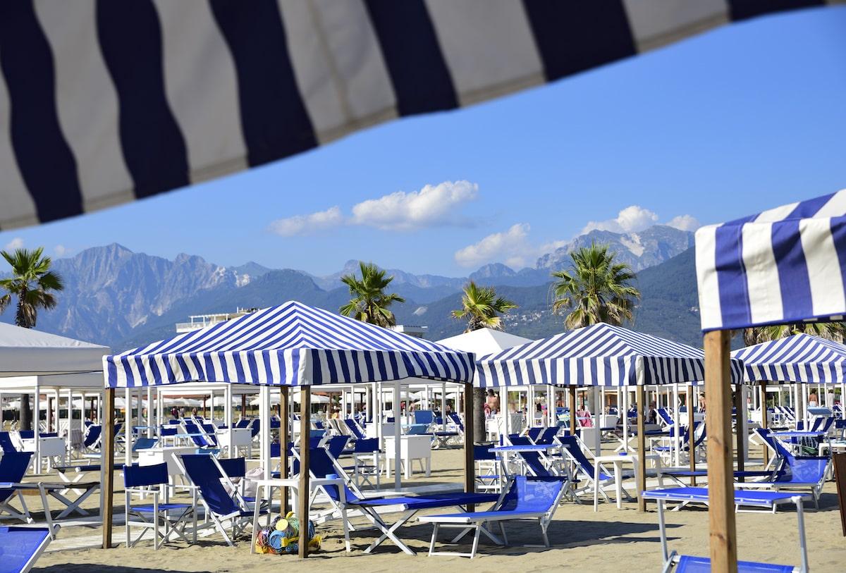 Toscana Versilia Beaches Beach Spiaggia Spiagge Dolce Vita Tuscany La Spezia Liguria Porto Lotti