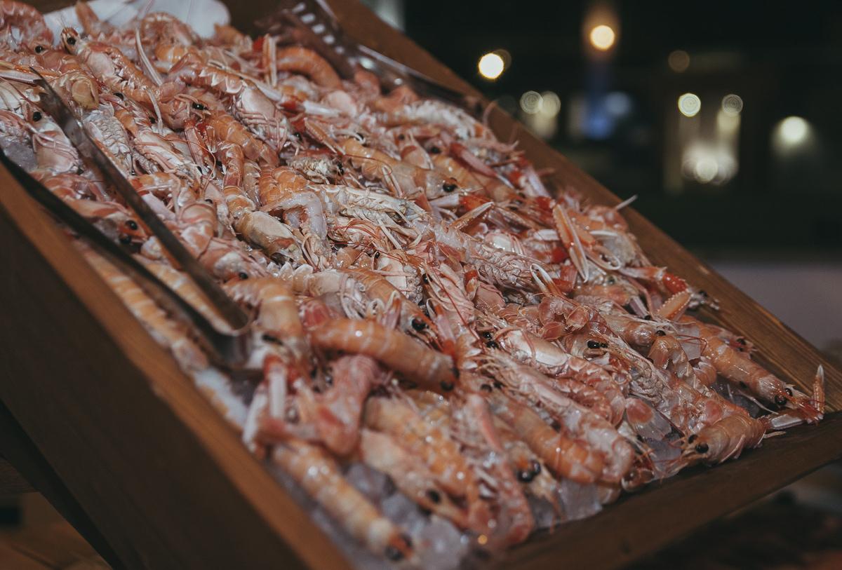 La Rada Ristorante in Porto Lotti serves fresh seafood