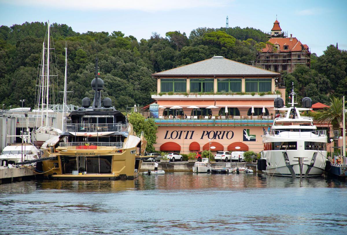 Superyacht Haven heaven at Porto Lotti in La Spezia, Italy
