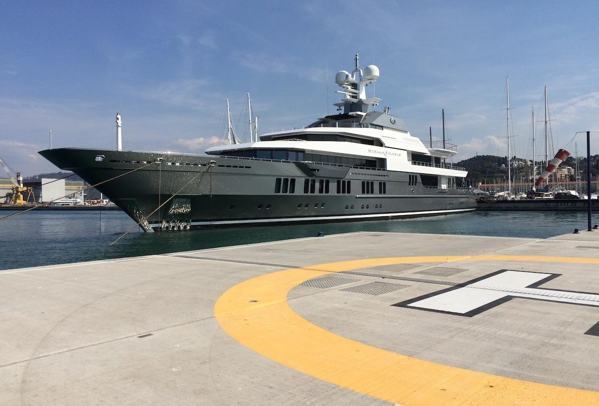 A Porto Lotti i superyacht di grandi dimensioni sono benvenuti