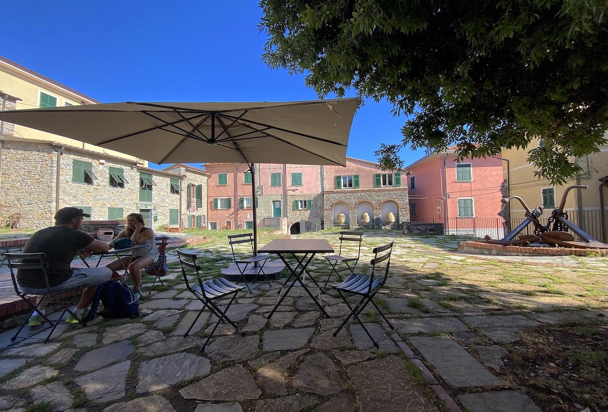 Montemarcello is a romantic destination near La Spezia for italian tourism in Liguria Toscana Italy Italia