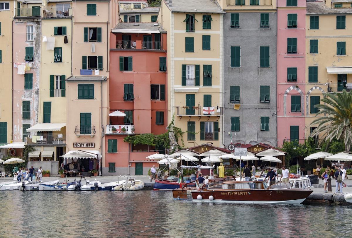Borgo Porto venere affacciato sul Mar Ligure La Spezia Cinqueterre