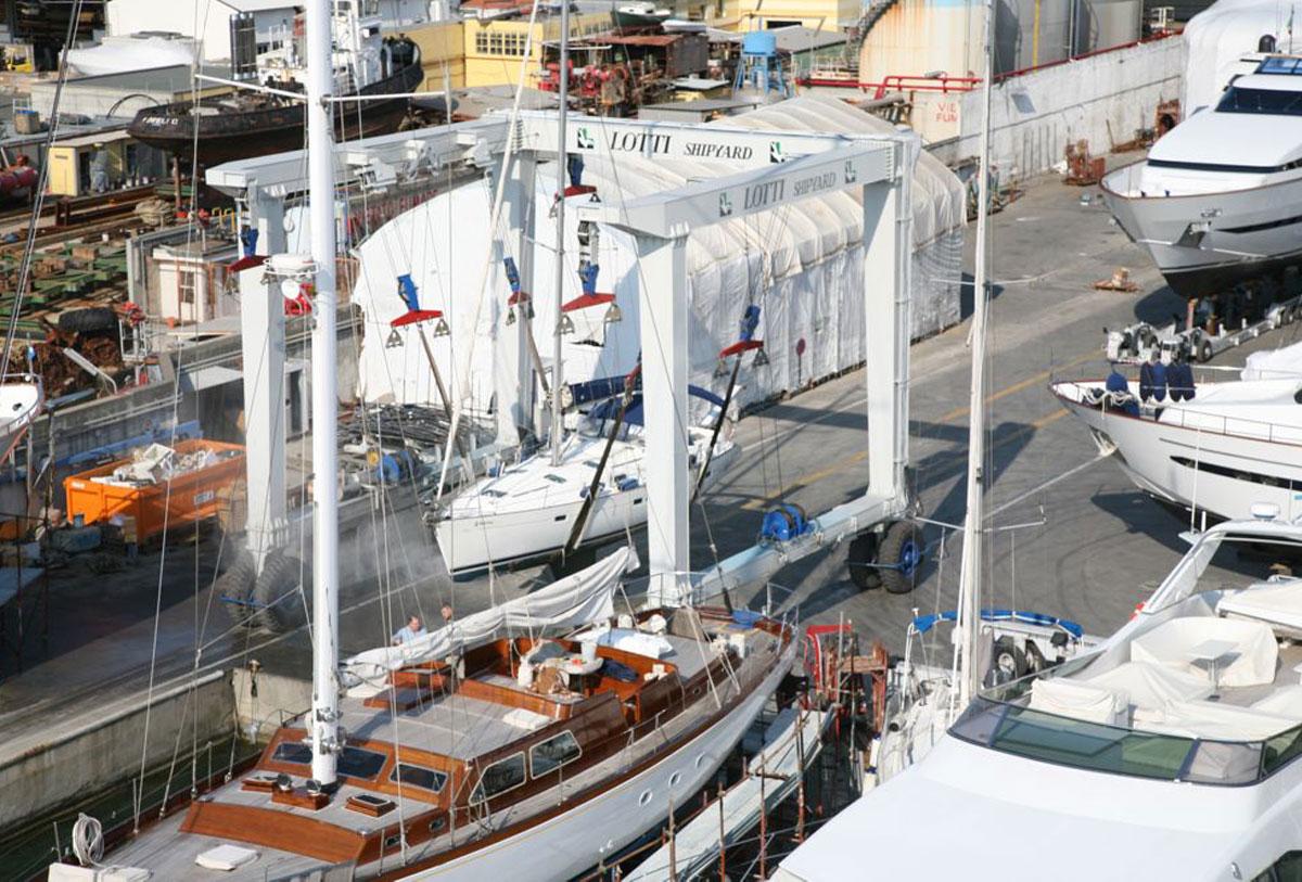 Porto Lotti SHIPYARD