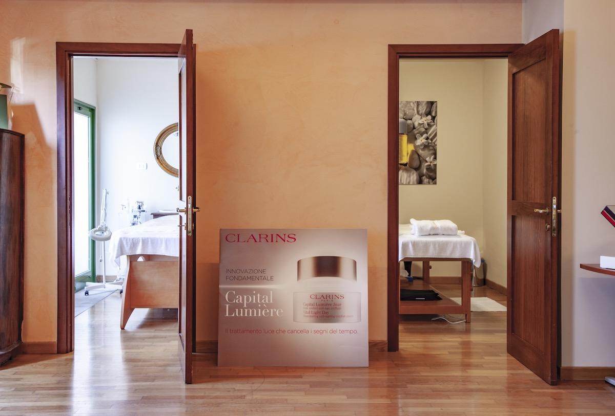 La SPA di porto Lotti la Spezia è dotata di area massaggi per concedersi un soggiorno all